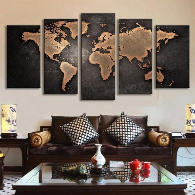 large-maps-interior-design-675x675 The 15 Newest Interior Design Ideas for Your Home in 2018