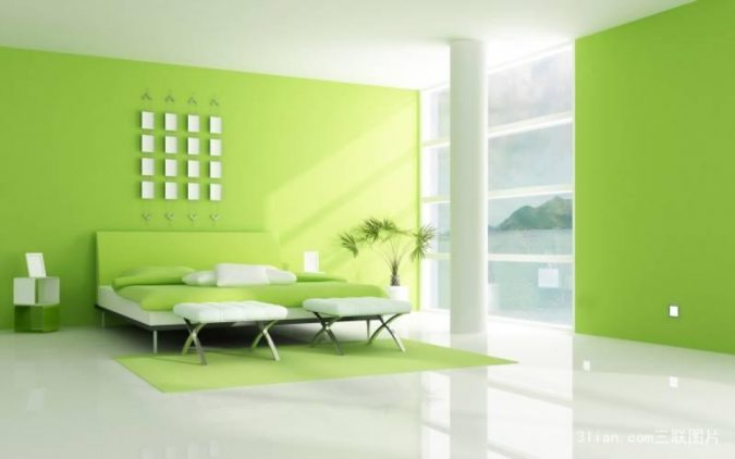 light-green-living-room-675x422 14 Hottest Interior Designers Trends in 2018