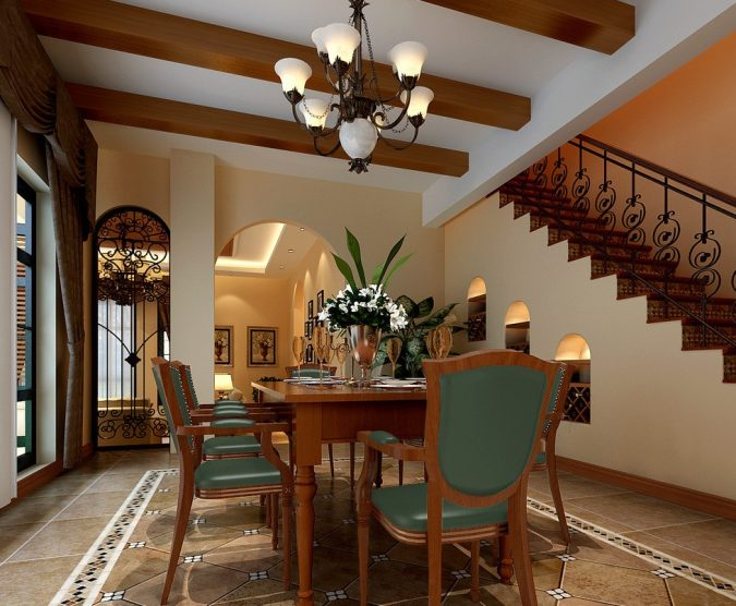 lighting-U.S.-House-dining-room-and-stairs-675x556 15+ Latest Interior Design Ideas for Your Home in 2020