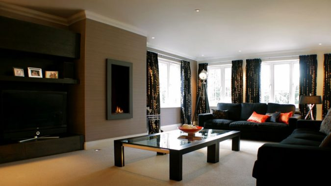 living-room-colors-with-black-furniture-675x380 Top 15 Interior Design Tips from Experts