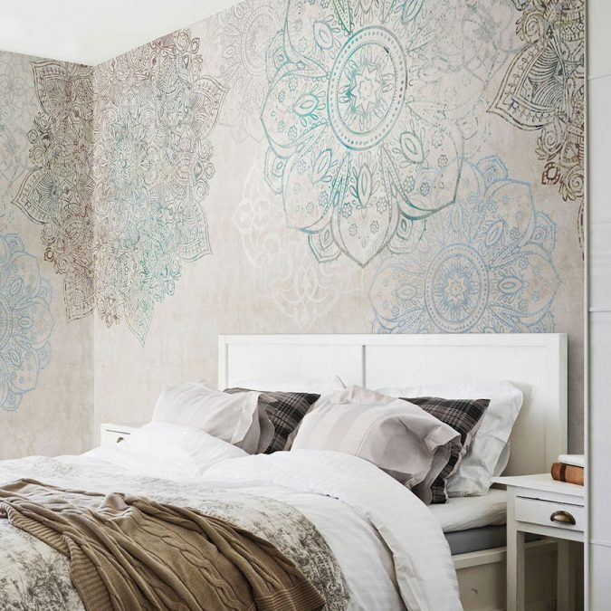 mandala-prints-wallpaper-interior-design-2-675x675 Top 5 Indian Interior Design Trends for 2020
