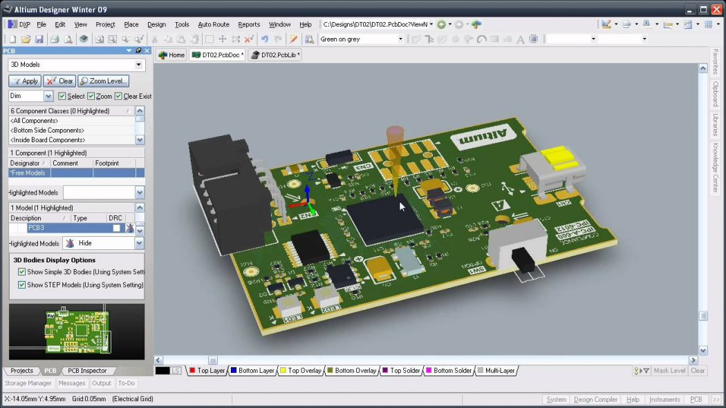 10 Leading Free PCB software for Electronics Designers