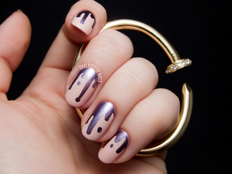 metallic-nail-art-ideas-7 16+ Lovely Nail Polish Trends for Spring & Summer 2018