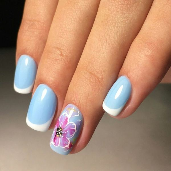 modern-French-manicure-14 16+ Lovely Nail Polish Trends for Spring & Summer 2020