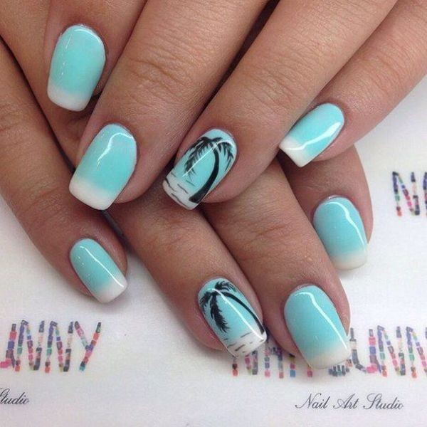 modern-French-manicure-15 16+ Lovely Nail Polish Trends for Spring & Summer 2020
