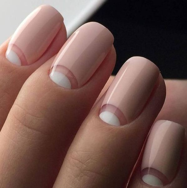 modern-French-manicure-18 16+ Lovely Nail Polish Trends for Spring & Summer 2020