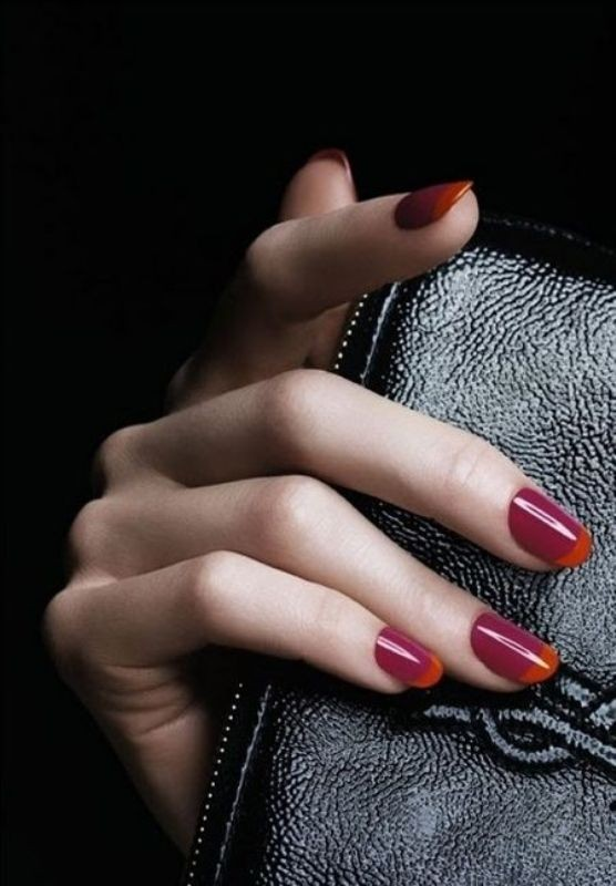 modern-French-manicure-2 16+ Lovely Nail Polish Trends for Spring & Summer 2020