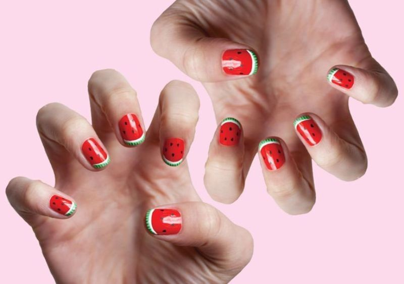 modern-French-manicure-20 16+ Lovely Nail Polish Trends for Spring & Summer 2020