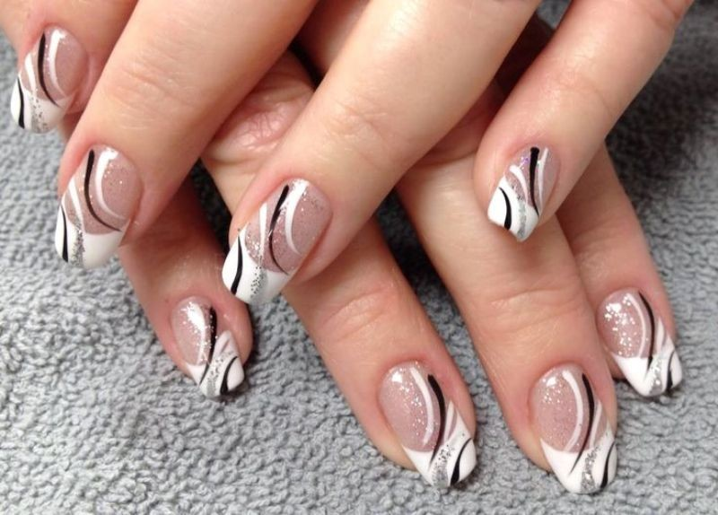 modern-French-manicure-21 16+ Lovely Nail Polish Trends for Spring & Summer 2020
