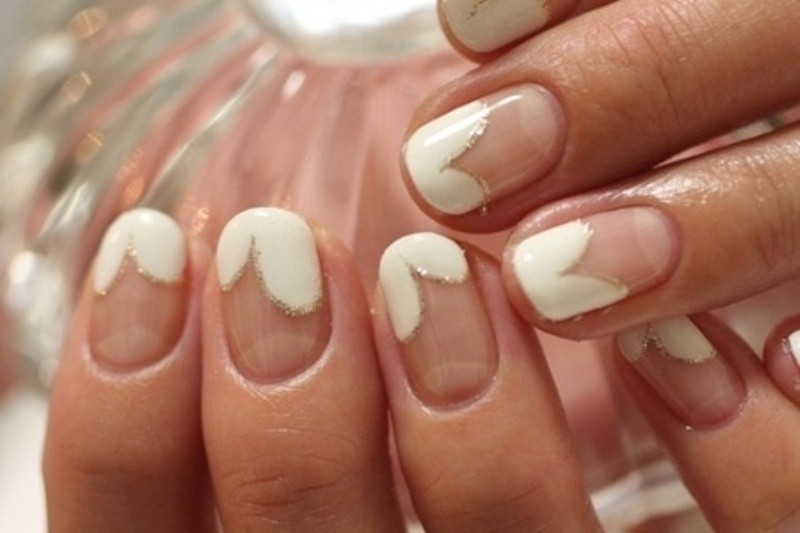 modern-French-manicure-22 16+ Lovely Nail Polish Trends for Spring & Summer 2020
