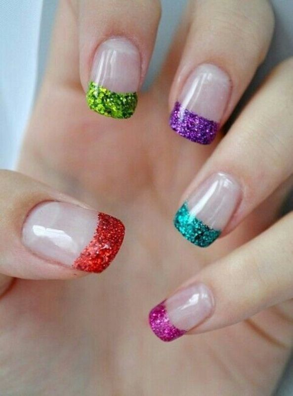 modern-French-manicure-4 16+ Lovely Nail Polish Trends for Spring & Summer 2018