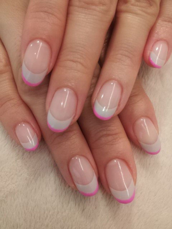 modern-French-manicure-5 16+ Lovely Nail Polish Trends for Spring & Summer 2020