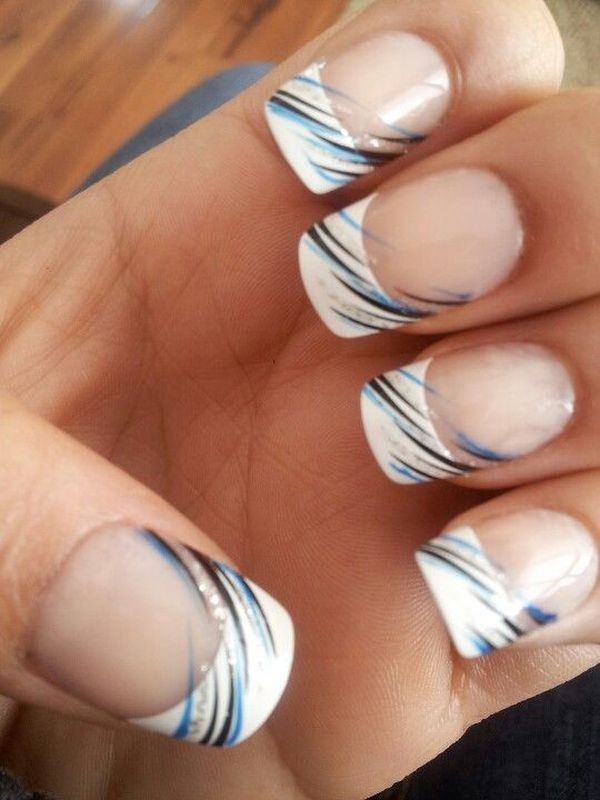 modern-French-manicure-7 16+ Lovely Nail Polish Trends for Spring & Summer 2018