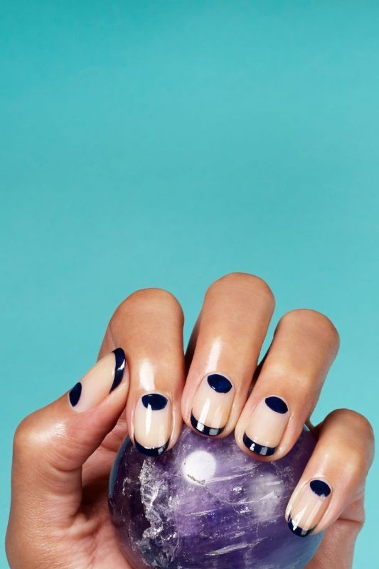 modern-French-manicure 16+ Lovely Nail Polish Trends for Spring & Summer 2018