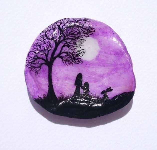 mothers-day-stone-art-11 35 Unexpected & Creative Handmade Mother's Day Gift Ideas