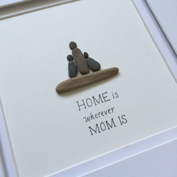 mothers-day-stone-art-12 35 Unexpected & Creative Handmade Mother's Day Gift Ideas