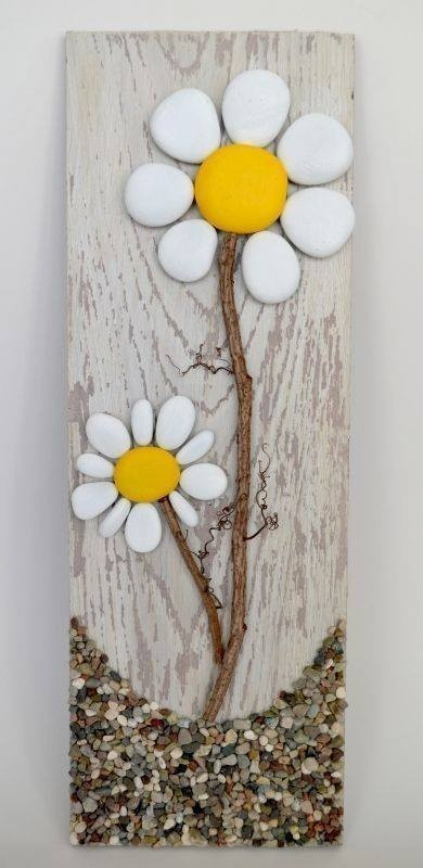 mothers-day-stone-art 35 Unexpected & Creative Handmade Mother's Day Gift Ideas