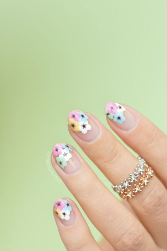 nail-art-ideas-2017-10 76+ Hottest Nail Design Ideas for Spring & Summer 2020