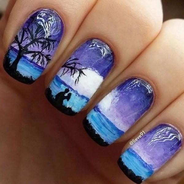 nail-art-ideas-2017-111 76+ Hottest Nail Design Ideas for Spring & Summer 2021