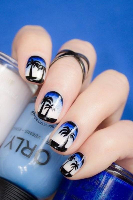 nail-art-ideas-2017-12 76+ Hottest Nail Design Ideas for Spring & Summer 2021