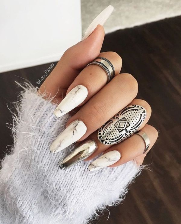 nail-art-ideas-2017-132 76+ Hottest Nail Design Ideas for Spring & Summer 2021