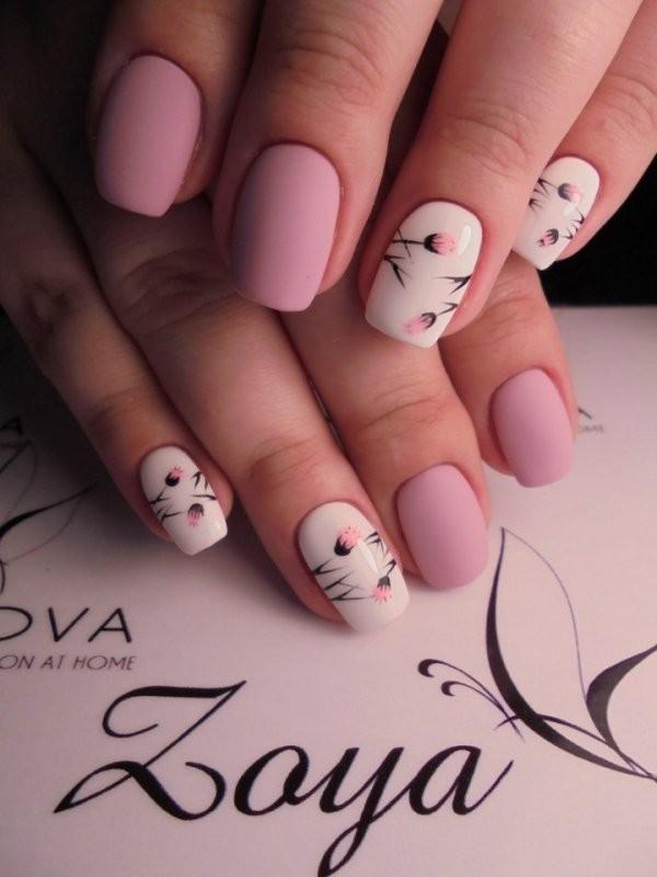 nail-art-ideas-2017-137 76+ Hottest Nail Design Ideas for Spring & Summer 2021