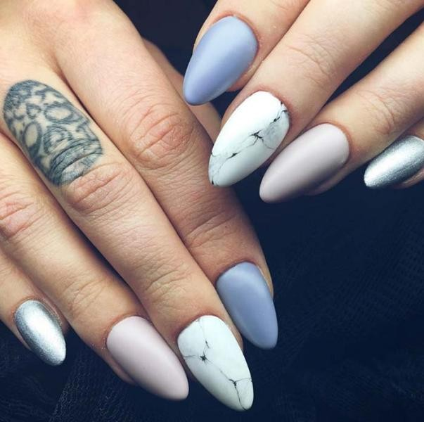 nail-art-ideas-2017-149 76+ Hottest Nail Design Ideas for Spring & Summer 2020