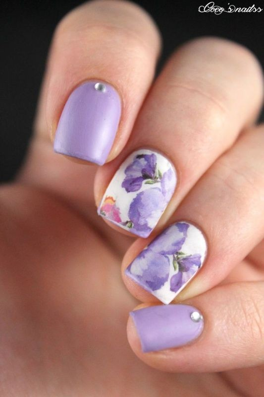 nail-art-ideas-2017-15 76+ Hottest Nail Design Ideas for Spring & Summer 2020