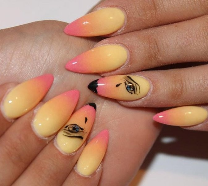 nail-art-ideas-2017-155 76+ Hottest Nail Design Ideas for Spring & Summer 2020