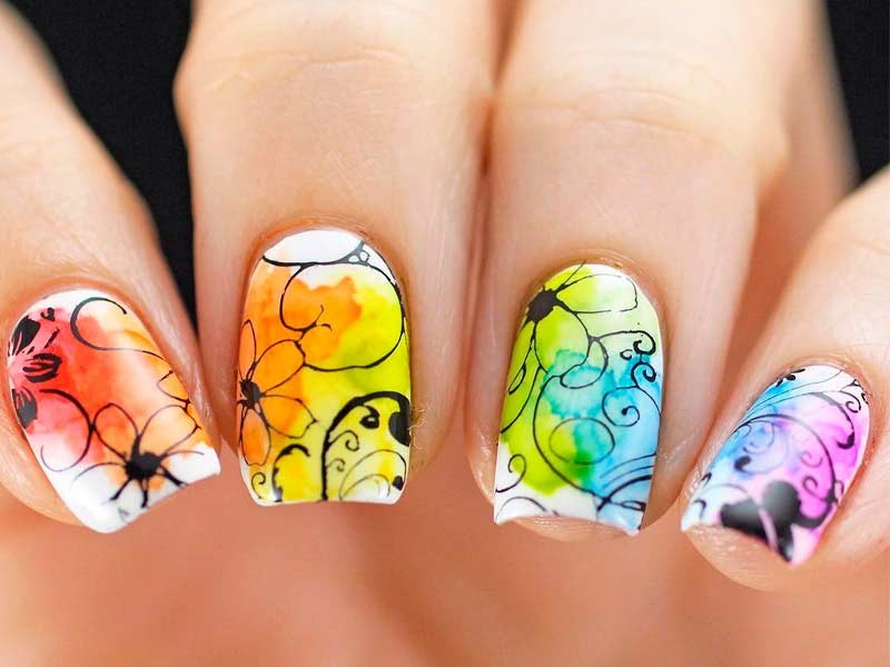 nail-art-ideas-2017-174 76+ Hottest Nail Design Ideas for Spring & Summer 2020