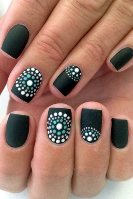 nail-art-ideas-2017-20 76+ Hottest Nail Design Ideas for Spring & Summer 2021