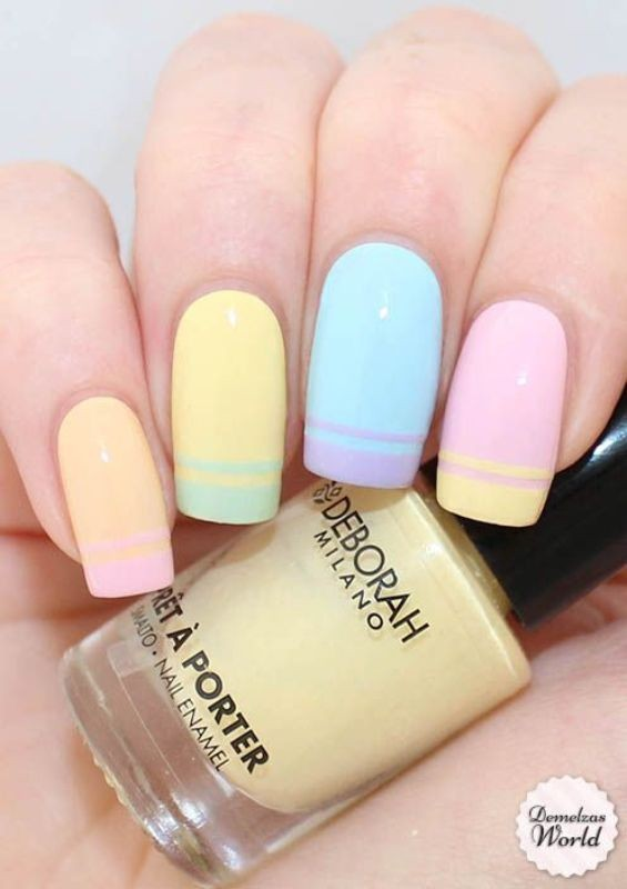 nail-art-ideas-2017-23 76+ Hottest Nail Art Ideas for Spring & Summer 2017