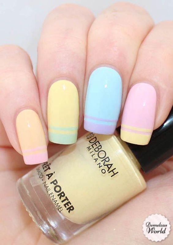 nail-art-ideas-2017-23 76+ Hottest Nail Design Ideas for Spring & Summer 2021