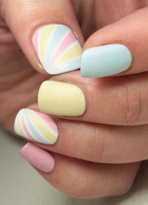 nail-art-ideas-2017-24 76+ Hottest Nail Design Ideas for Spring & Summer 2020