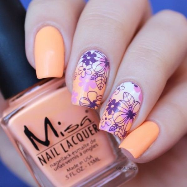 nail-art-ideas-2017-28 76+ Hottest Nail Design Ideas for Spring & Summer 2020