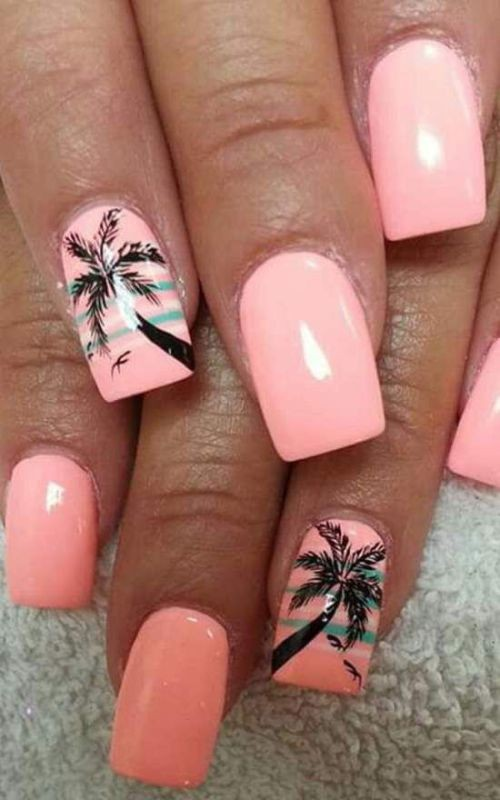 nail-art-ideas-2017-3 76+ Hottest Nail Design Ideas for Spring & Summer 2020