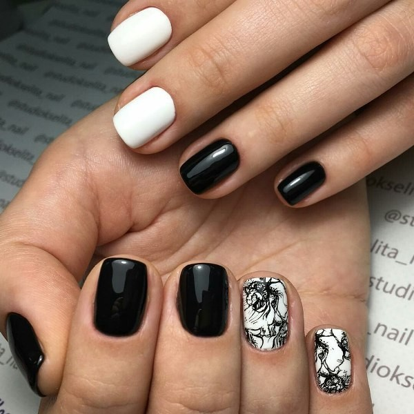 nail-art-ideas-2017-39 76+ Hottest Nail Design Ideas for Spring & Summer 2020