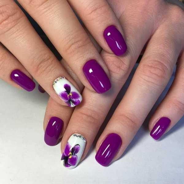 nail-art-ideas-2017-49 76+ Hottest Nail Design Ideas for Spring & Summer 2021