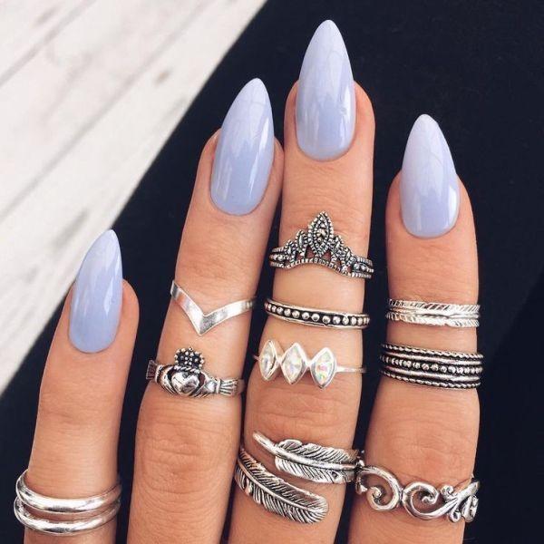 nail-art-ideas-2017-54 76+ Hottest Nail Design Ideas for Spring & Summer 2021