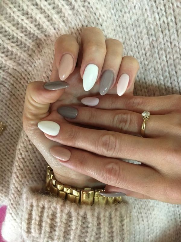 nail-shapes-2017-5 16+ Lovely Nail Polish Trends for Spring & Summer 2018