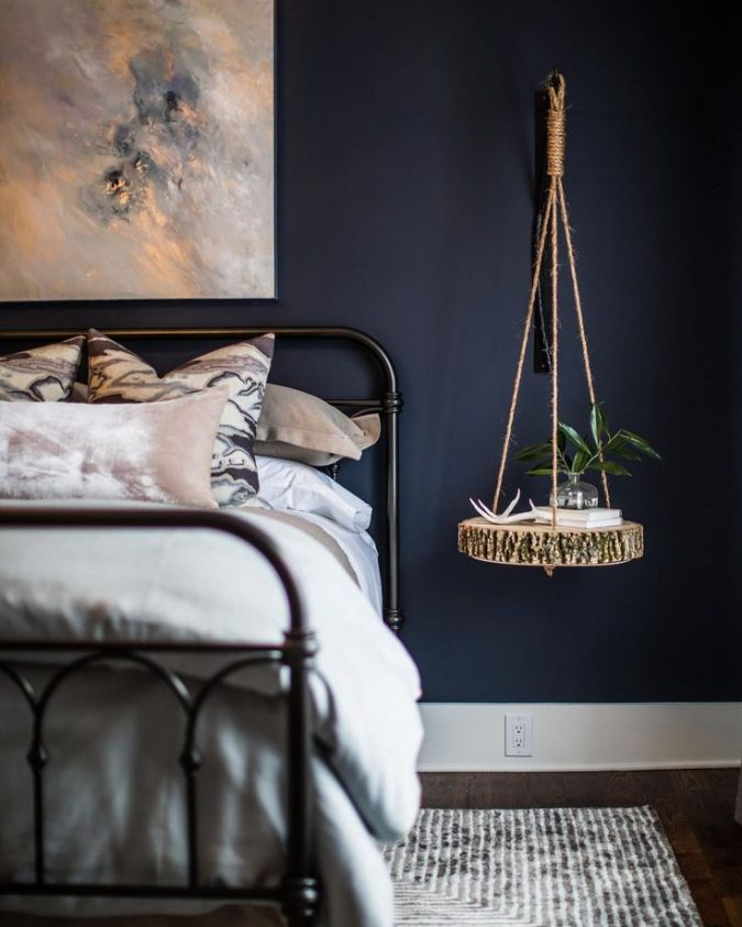 navy-bedroom-2-675x843 2018 Trending: 20 Bedroom Designs to Watch for in 2018
