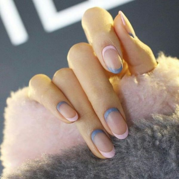 negative-space-nails-21 16+ Lovely Nail Polish Trends for Spring & Summer 2020