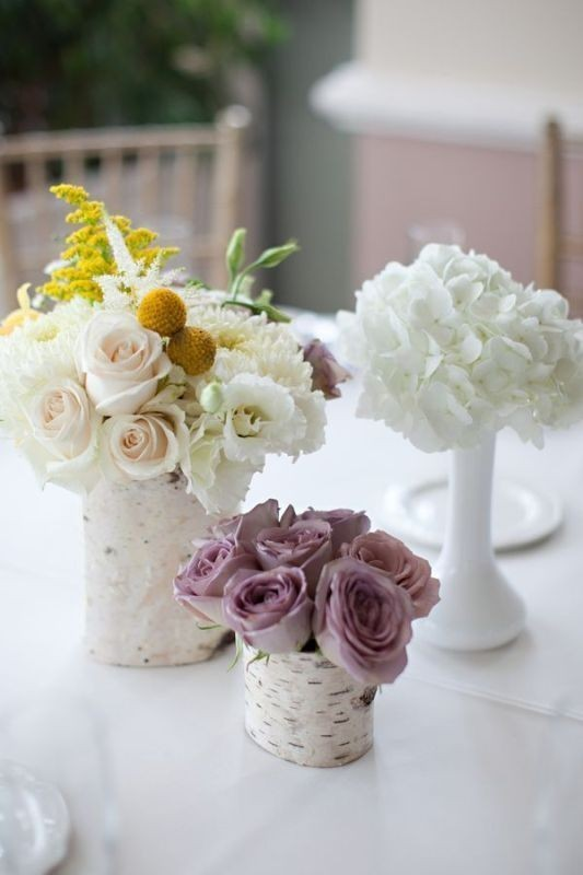 non-traditional-wedding-vases-10 11 Tips on Mixing Antique and Modern Décor Styles