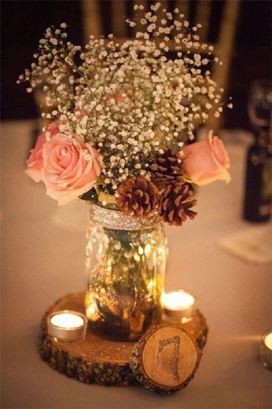 non-traditional-wedding-vases-13 11 Tips on Mixing Antique and Modern Décor Styles