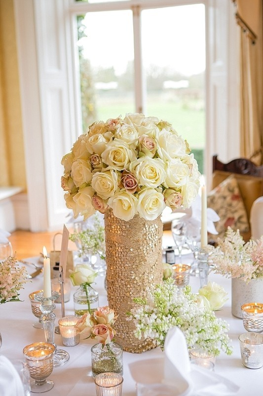 non-traditional-wedding-vases-29 11 Tips on Mixing Antique and Modern Décor Styles