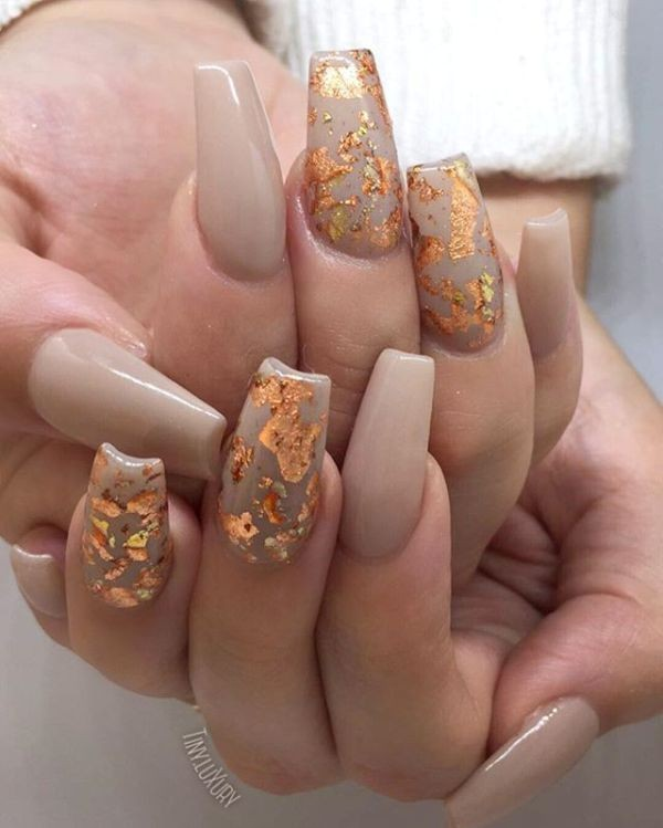 nude-nails-10 16+ Lovely Nail Polish Trends for Spring & Summer 2018