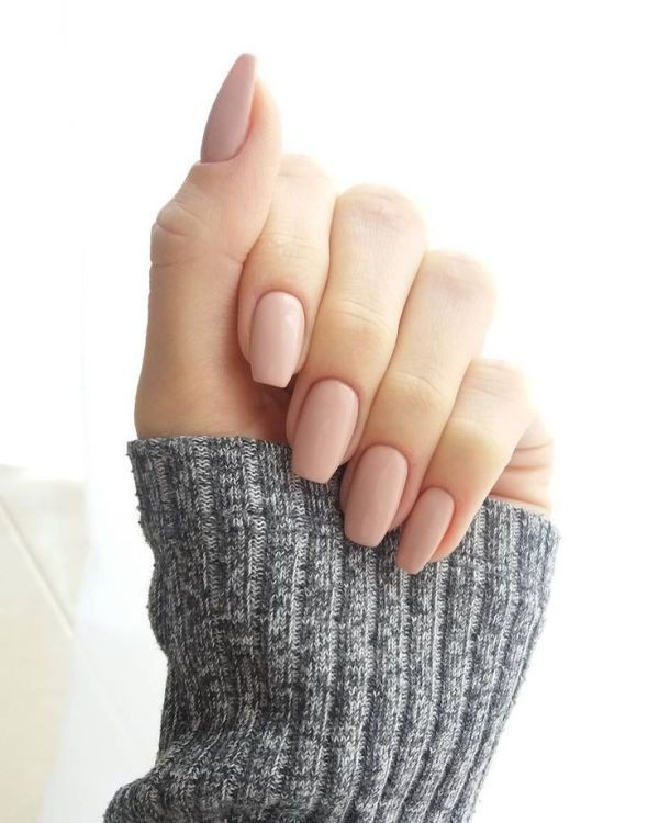 nude-nails-12 16+ Lovely Nail Polish Trends for Spring & Summer 2018