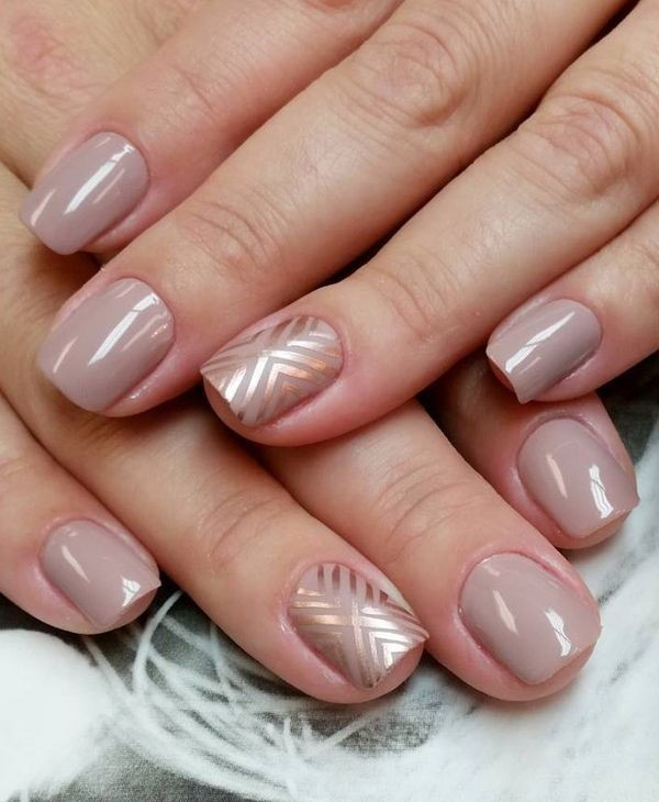nude-nails-13 16+ Lovely Nail Polish Trends for Spring & Summer 2018