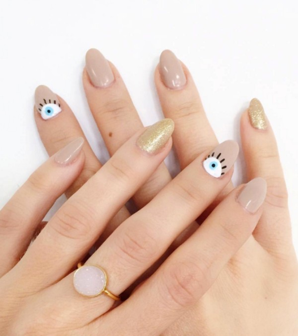 nude-nails-15 16+ Lovely Nail Polish Trends for Spring & Summer 2018