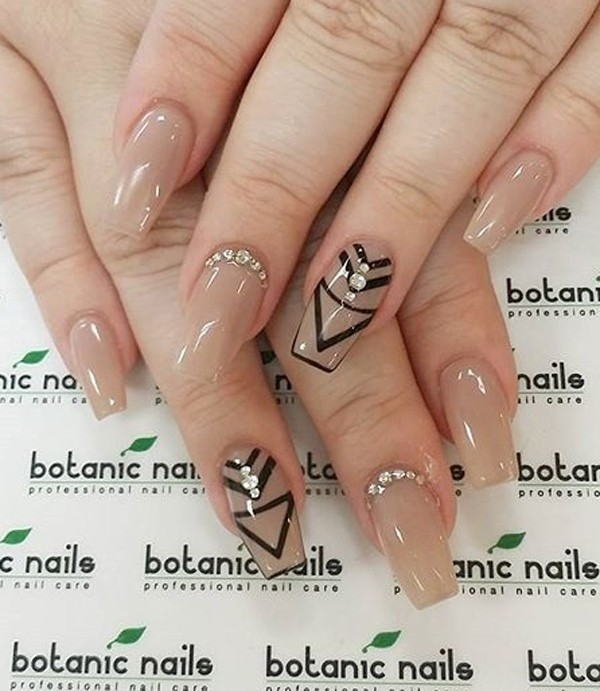 nude-nails-16 16+ Lovely Nail Polish Trends for Spring & Summer 2018